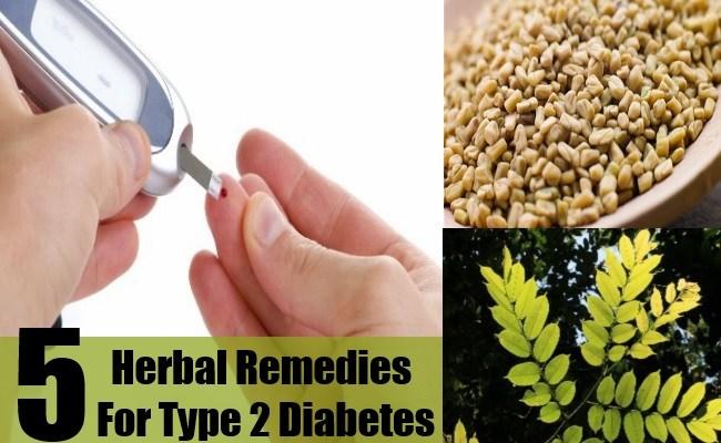 5 Herbal Remedies For Type 2 Diabetes